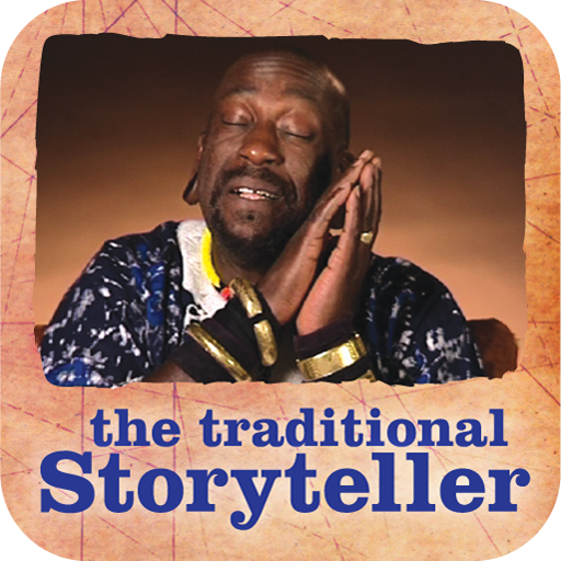 The Traditional Storyteller - Anancie and the Drum of Common Sense app icon
